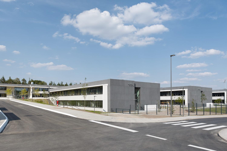 Wolff+Mueller, High School+ Elementary School Böblingen